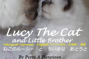 Lucy The Cat And Little Brother Bilingual Japanese – English